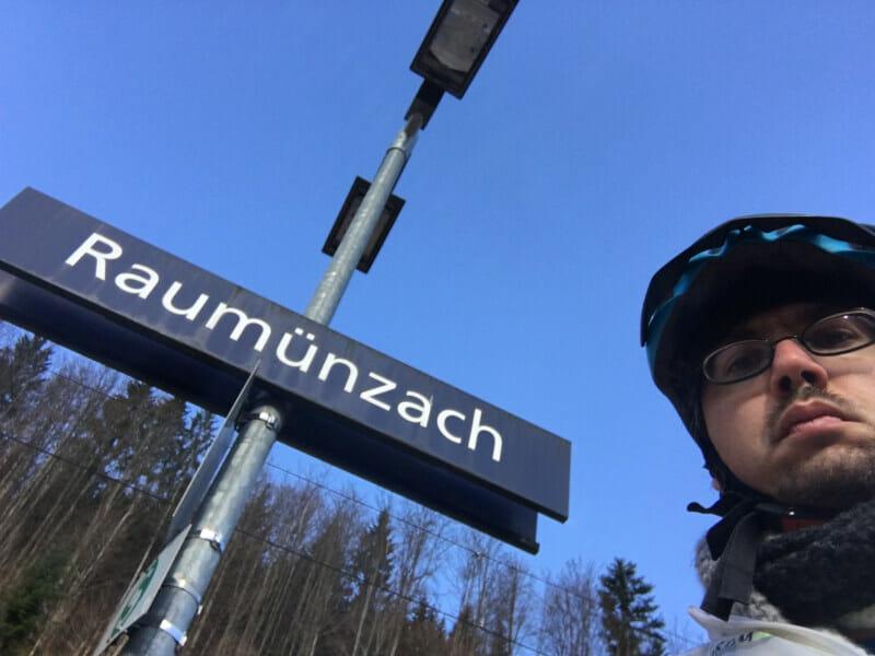 Raumünzach Bahnhof - 2. Etappe Schwarzwaldradweg