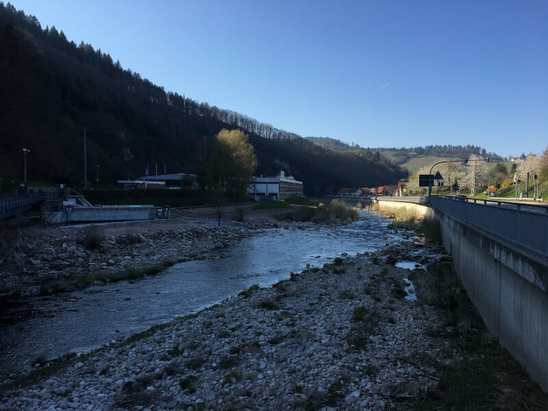 Murgtal zwischen Hilpertsau und Weisenbach