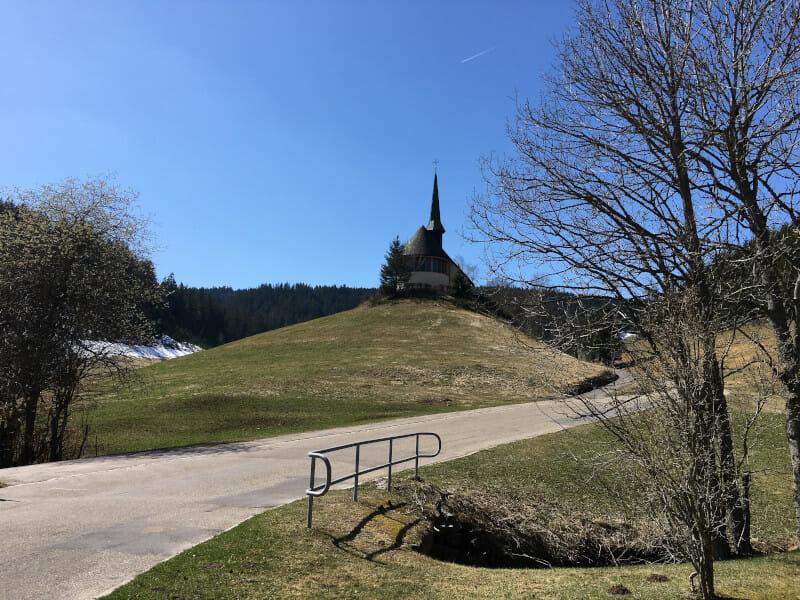 Bei der Donauquelle in Furtwangen Schwarzwald-Radweg