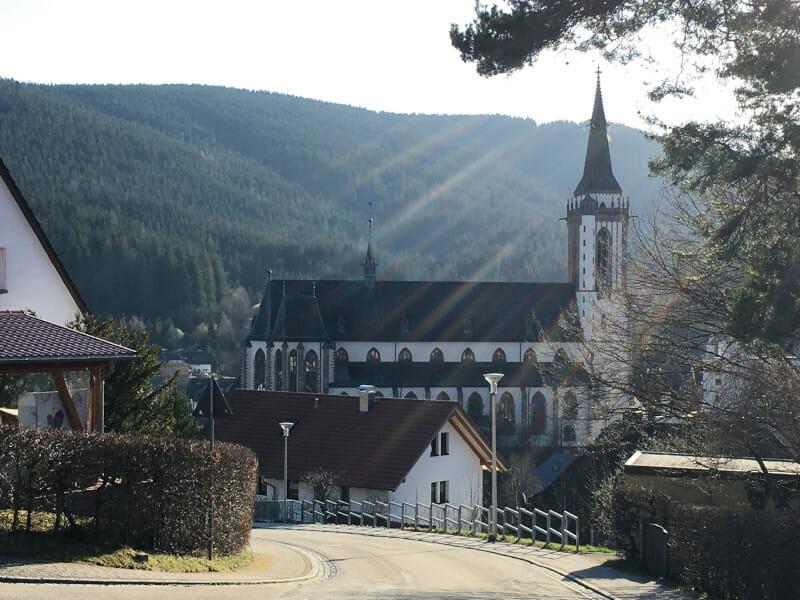 Titisee-Neustadt - Ende Schwarzwald-Radweg-Etappe