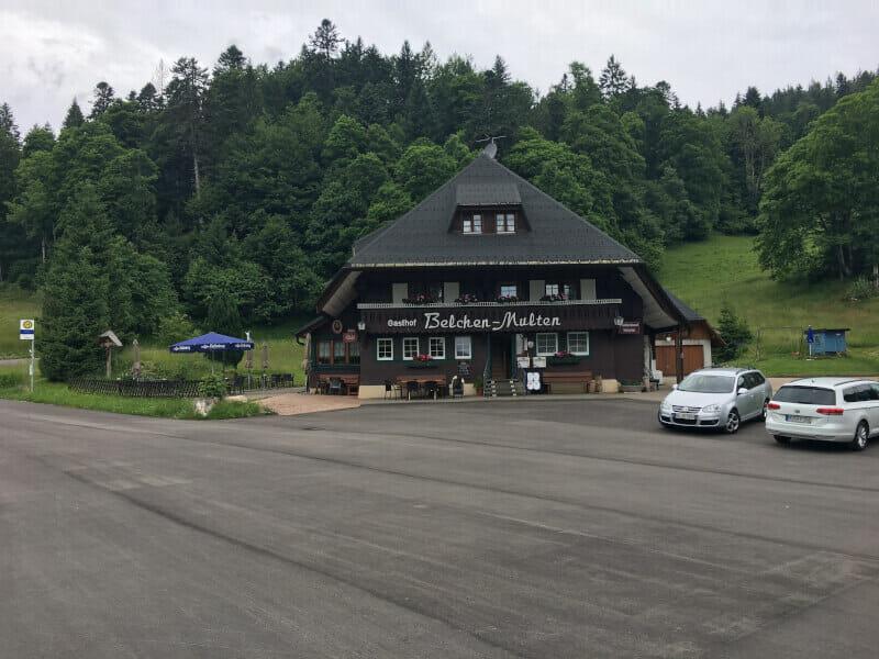Gasthof Belchen-Multen am Schwarzwaldradweg