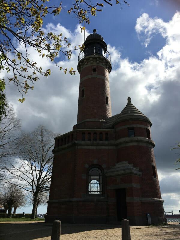 Leuchtturm Kiel Holtenau - bei einer Radtour gesehen.