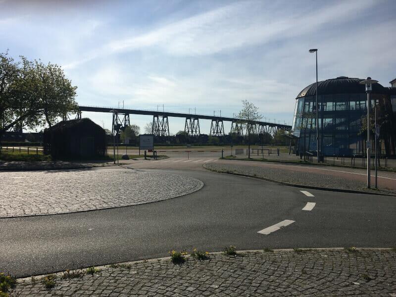Rendsburg Bahnbrücke - Nord-Ostsee-Kanal-Radweg