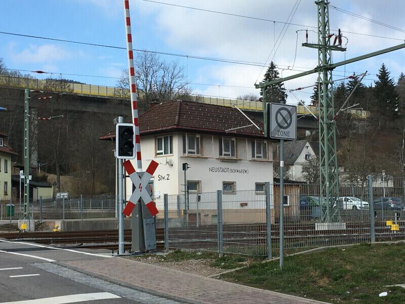Titisee-Neustadt am Bahnhof - Schwarzwalradweg