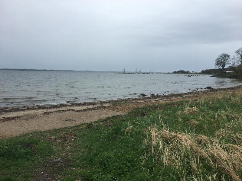 Bockholmwik an der Ostseeküste auf meiner Radtour.