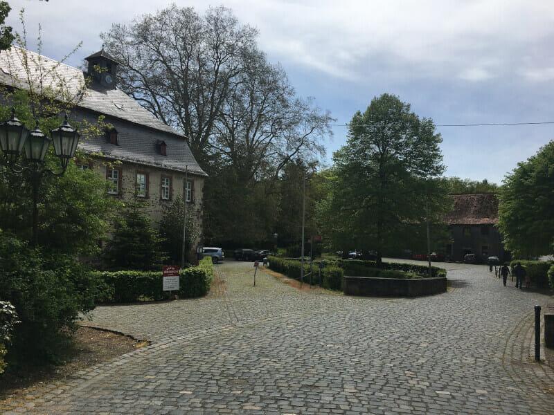 Kloster Arnsburg am Limesradweg.